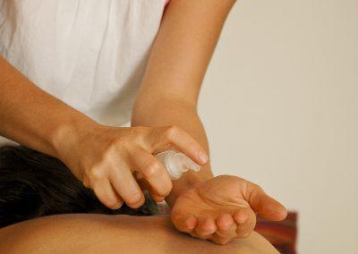 massage polynésien: huile des îles