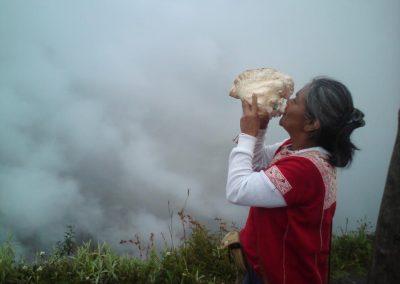 Exi, la guérisseuse mexicaine sur le Machu Picchu