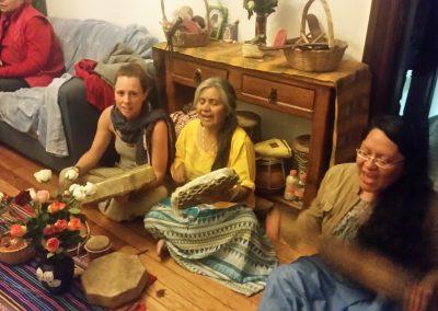 Cérémonie de Pipe à Mexico avec les guérisseuses mexicaines